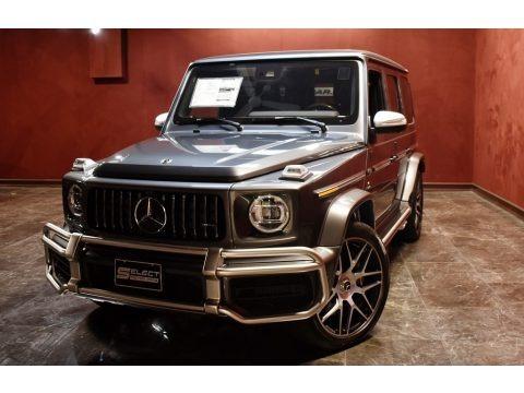 designo Graphite Metallic 2020 Mercedes-Benz G 63 AMG