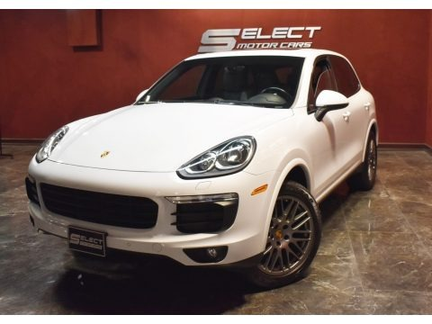 Carrara White Metallic 2017 Porsche Cayenne Platinum Edition