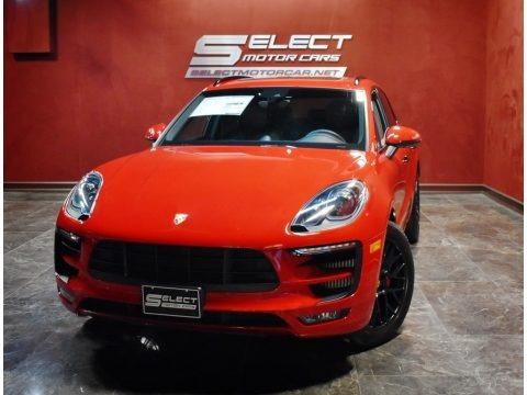 Carmine Red 2017 Porsche Macan GTS