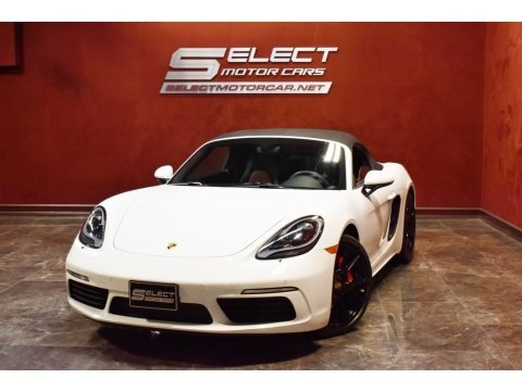 White 2019 Porsche 718 Boxster S
