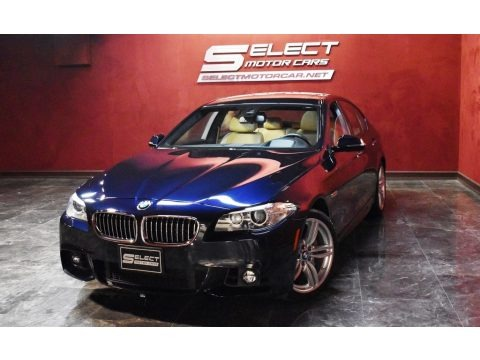 Carbon Black Metallic 2016 BMW 5 Series 535i xDrive Sedan