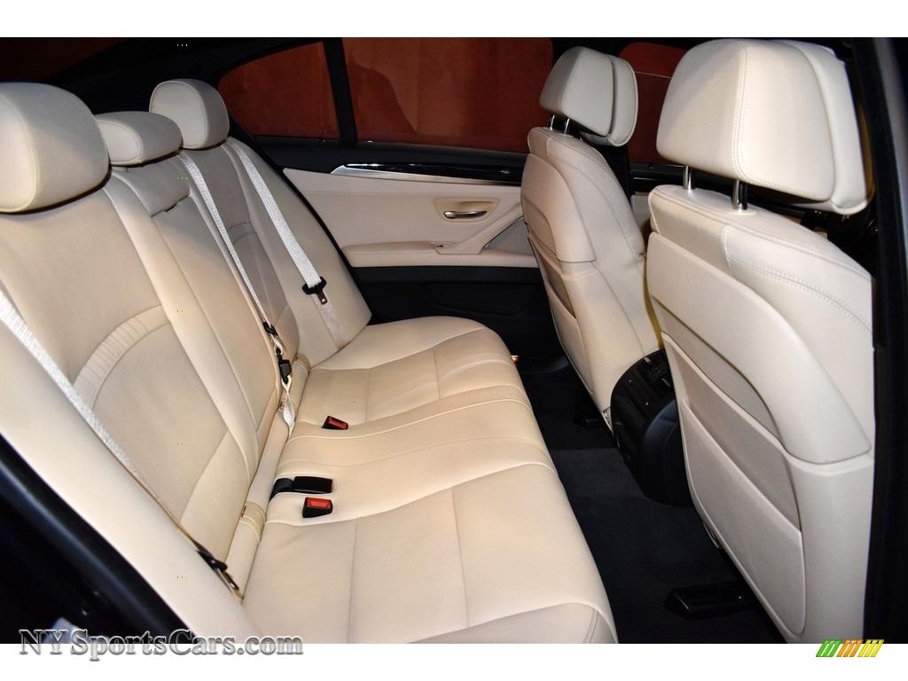 2016 5 Series 535i xDrive Sedan - Carbon Black Metallic / Venetian Beige/Black photo #13