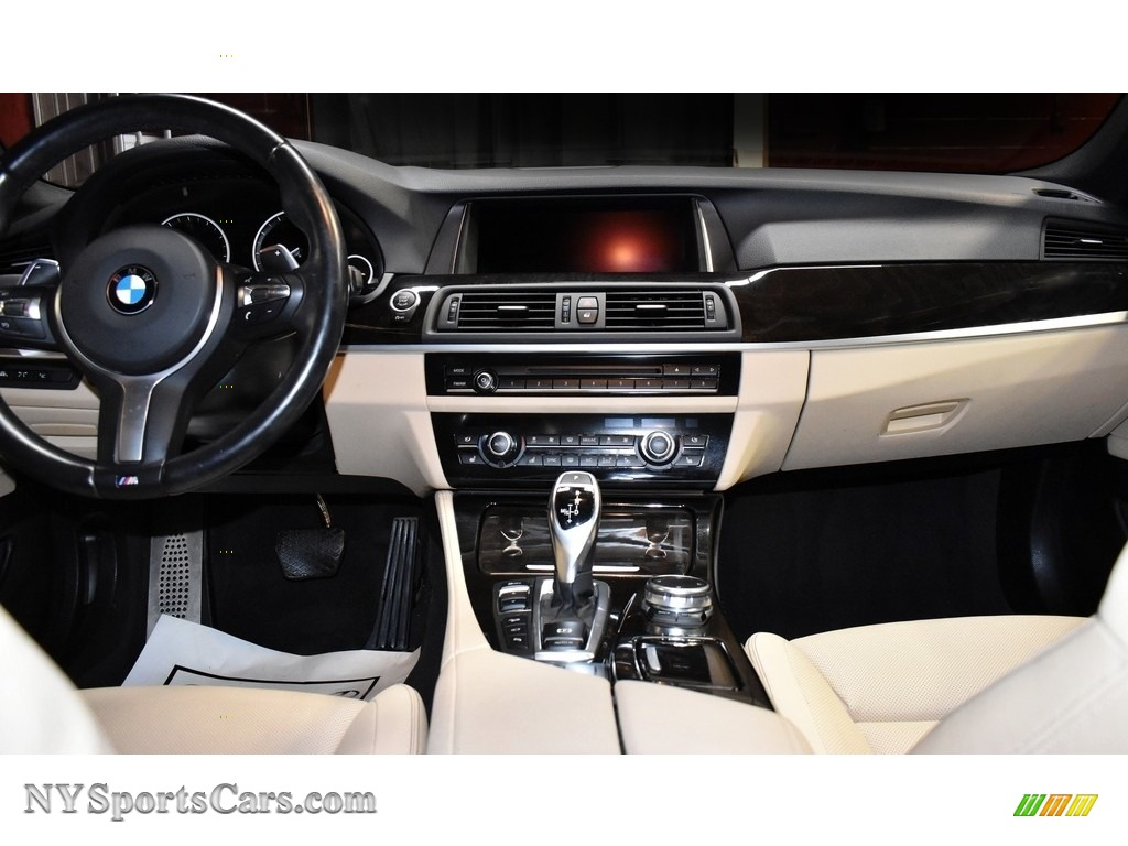 2016 5 Series 535i xDrive Sedan - Carbon Black Metallic / Venetian Beige/Black photo #14