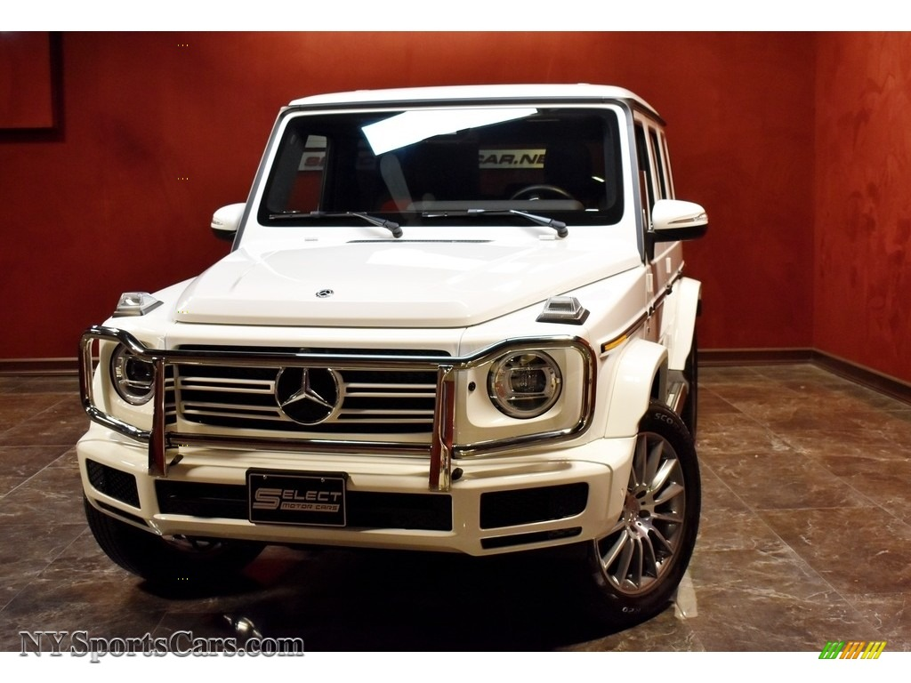 2019 G 550 - Polar White / designo Classic Red photo #1
