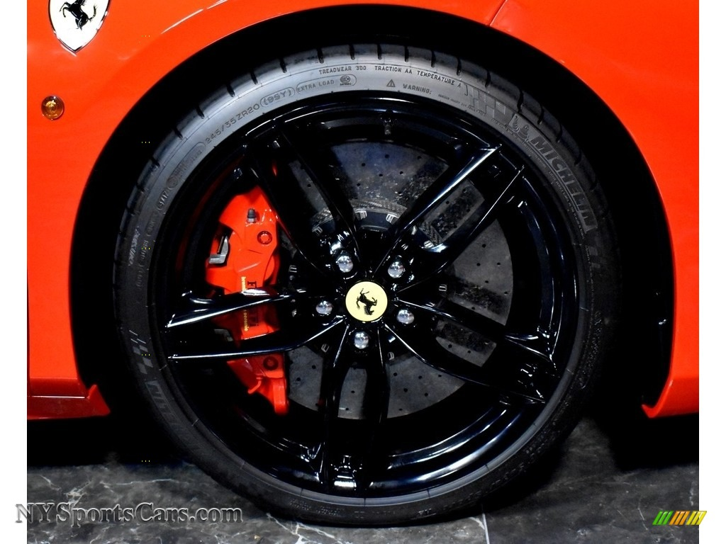 2018 488 GTB  - Rosso Corsa (Red) / Crema photo #8