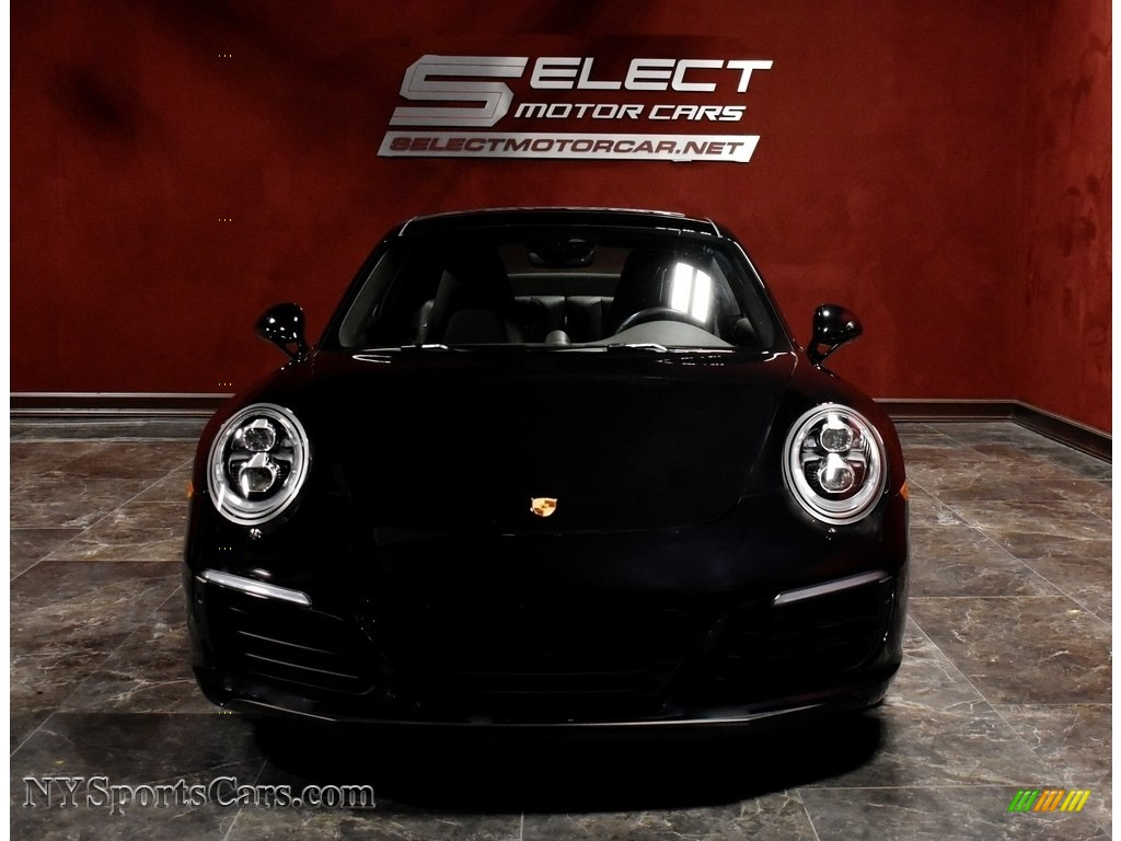 2017 911 Carrera 4S Coupe - Black / Agate Grey photo #2