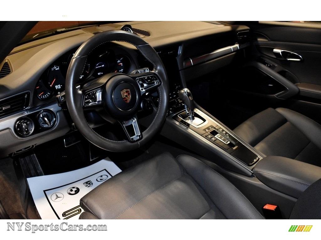 2017 911 Carrera 4S Coupe - Black / Agate Grey photo #10
