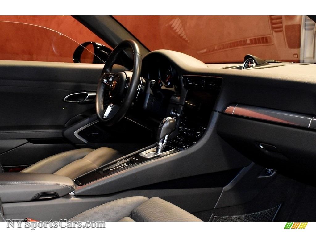 2017 911 Carrera 4S Coupe - Black / Agate Grey photo #14