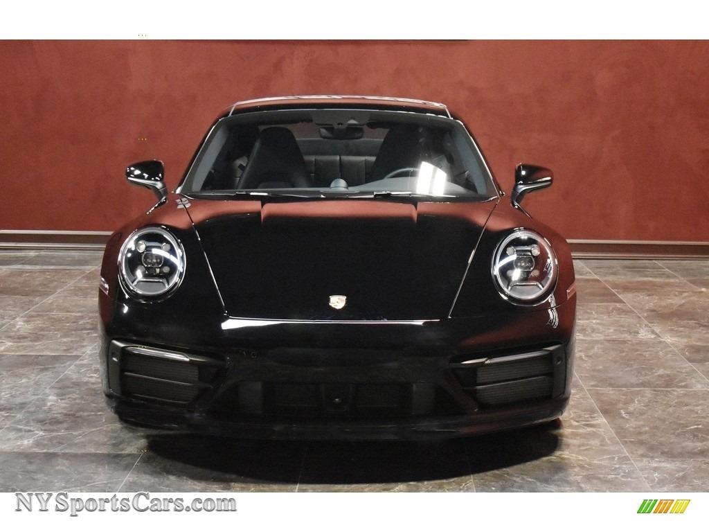 2020 911 Carrera 4S - Black / Black photo #2