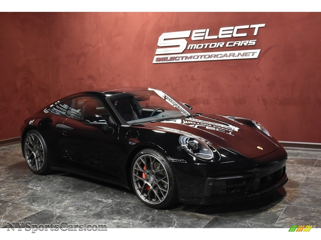 2020 911 Carrera 4S - Black / Black photo #3
