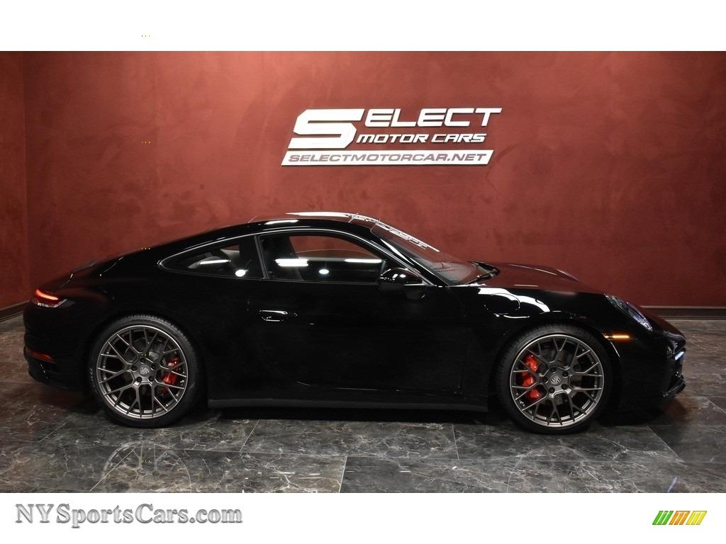 2020 911 Carrera 4S - Black / Black photo #4