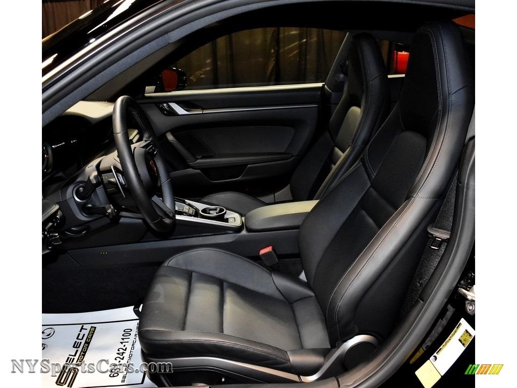 2020 911 Carrera 4S - Black / Black photo #12
