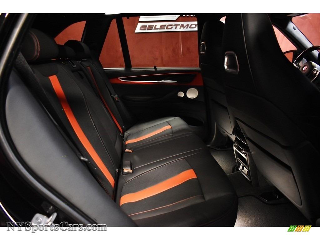 2018 X5 M  - Black Sapphire Metallic / Mugello Red photo #15