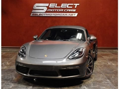 Agate Grey Metallic 2017 Porsche 718 Boxster