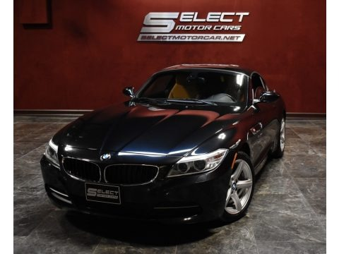 Jet Black 2015 BMW Z4 sDrive28i