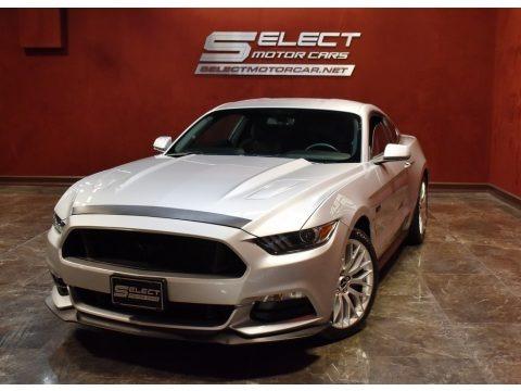 Ingot Silver Metallic 2016 Ford Mustang GT Coupe