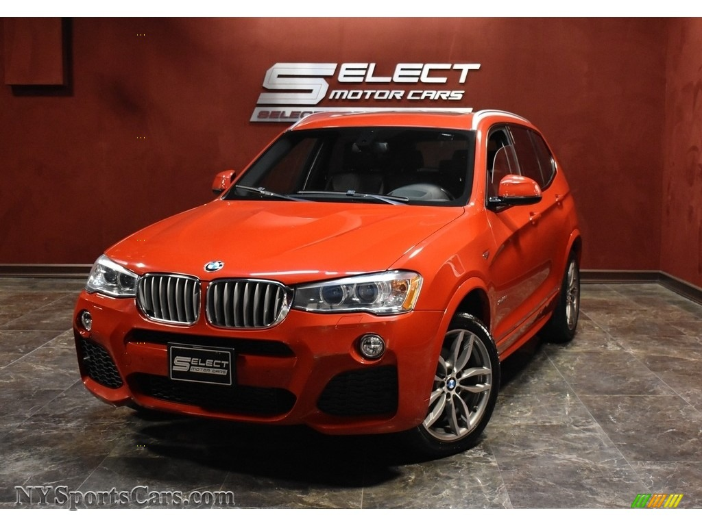 Melbourne Red Metallic / Black BMW X3 xDrive28i