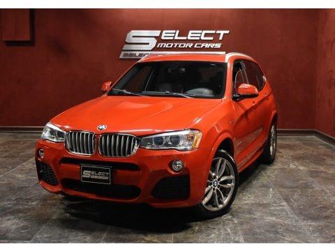 Melbourne Red Metallic 2016 BMW X3 xDrive28i