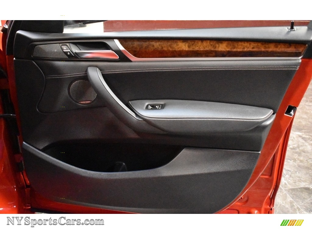 2016 X3 xDrive28i - Melbourne Red Metallic / Black photo #17