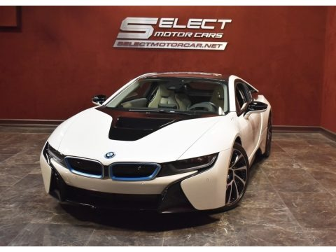 Crystal White Pearl Metallic 2017 BMW i8