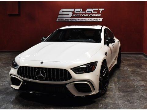 designo Diamond White Metallic 2019 Mercedes-Benz AMG GT 63 S