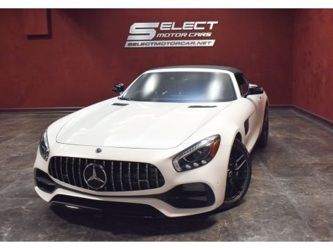 designo Diamond White Metallic 2018 Mercedes-Benz AMG GT Roadster