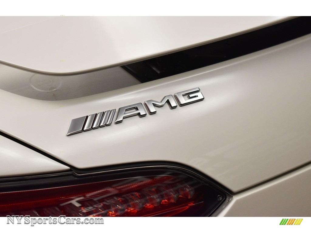 2018 AMG GT Roadster - designo Diamond White Metallic / Saddle Brown photo #9