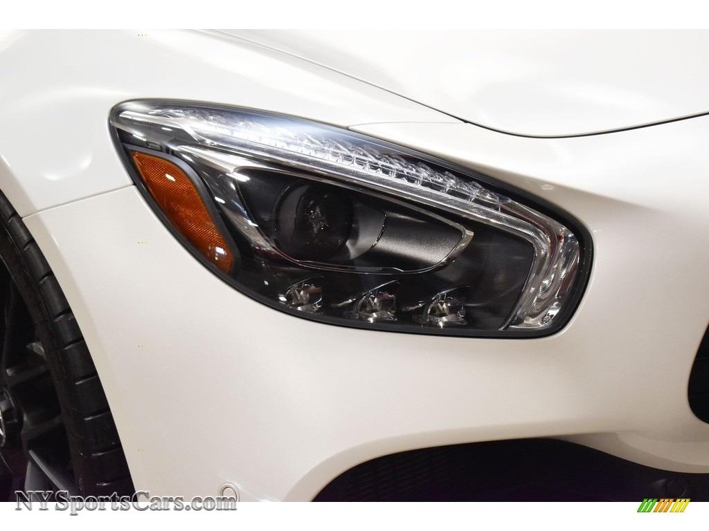 2018 AMG GT Roadster - designo Diamond White Metallic / Saddle Brown photo #13