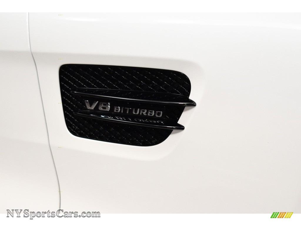 2018 AMG GT Roadster - designo Diamond White Metallic / Saddle Brown photo #15