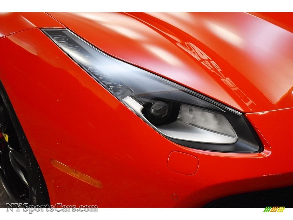 2019 488 Spider - Rosso Corsa / Rosso/Nero photo #11