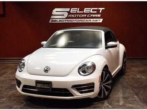 Pure White 2018 Volkswagen Beetle S Convertible