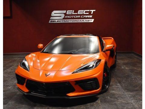 Sebring Orange 2020 Chevrolet Corvette Stingray Coupe