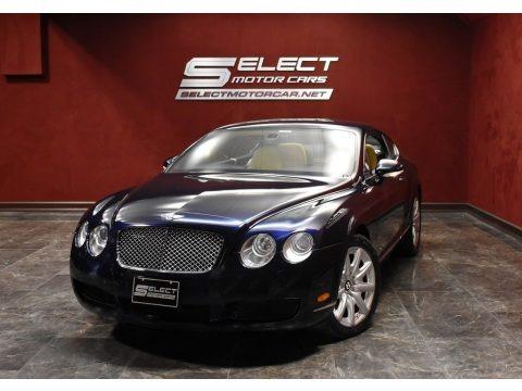 Dark Sapphire 2007 Bentley Continental GT
