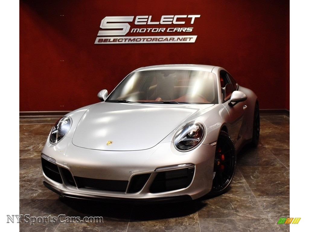 GT Silver Metallic / Bordeaux Red Porsche 911 Carrera GTS Coupe