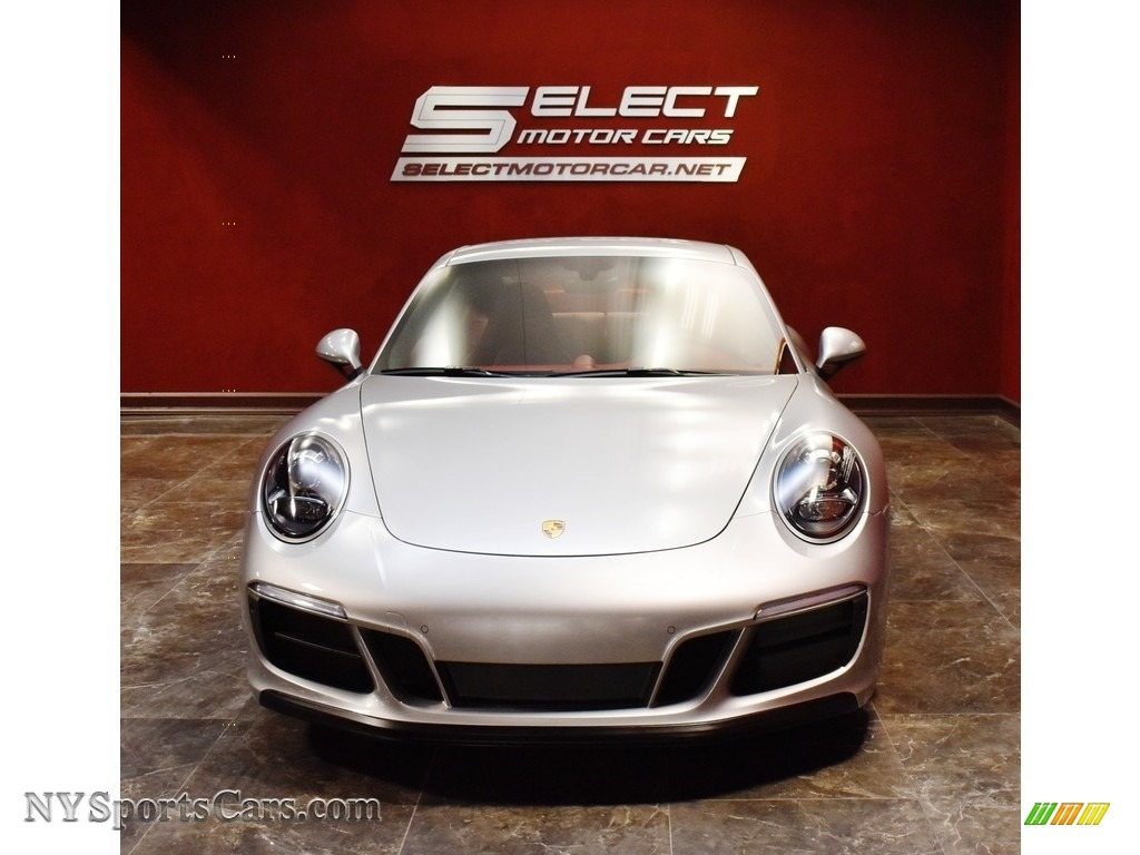 2019 911 Carrera GTS Coupe - GT Silver Metallic / Bordeaux Red photo #2