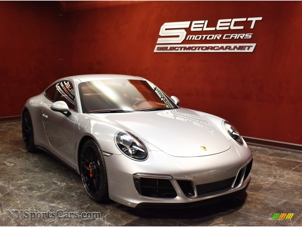 2019 911 Carrera GTS Coupe - GT Silver Metallic / Bordeaux Red photo #3