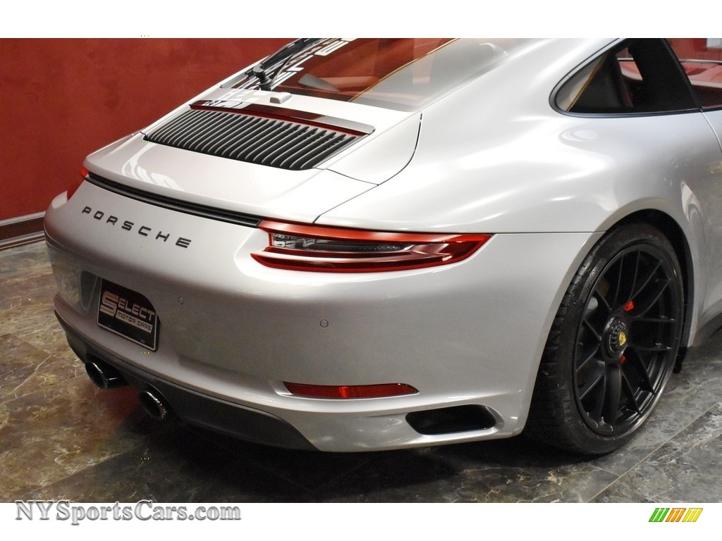 2019 911 Carrera GTS Coupe - GT Silver Metallic / Bordeaux Red photo #5