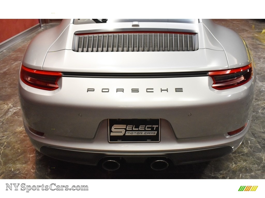 2019 911 Carrera GTS Coupe - GT Silver Metallic / Bordeaux Red photo #6