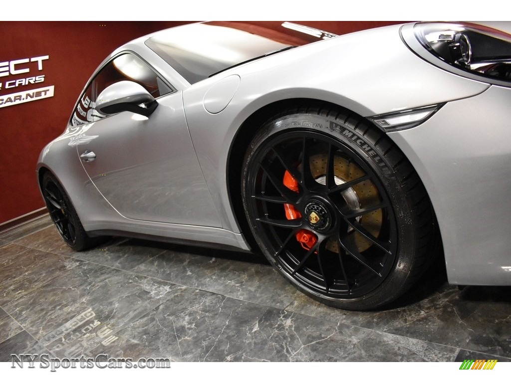2019 911 Carrera GTS Coupe - GT Silver Metallic / Bordeaux Red photo #10