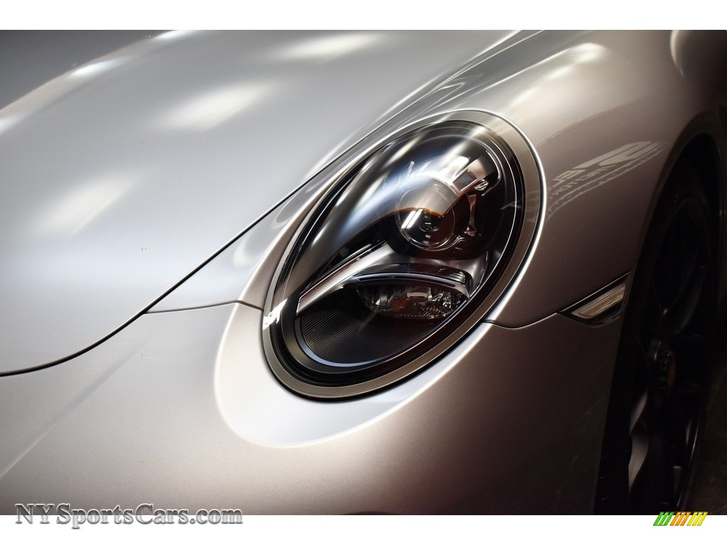 2019 911 Carrera GTS Coupe - GT Silver Metallic / Bordeaux Red photo #11