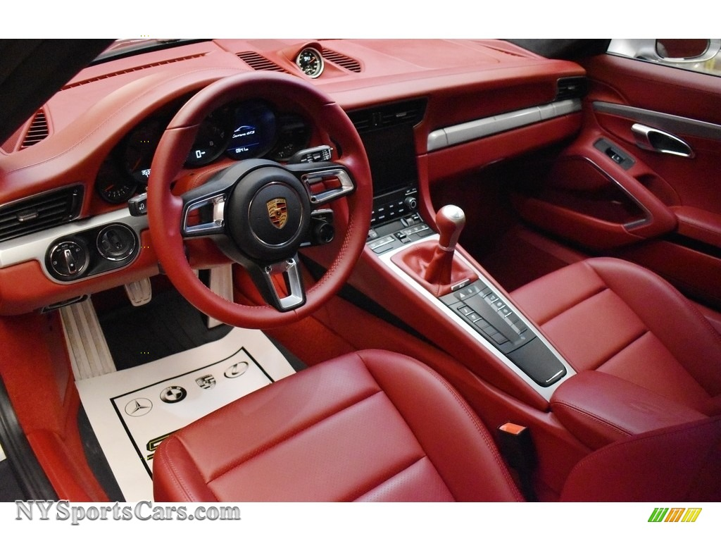 2019 911 Carrera GTS Coupe - GT Silver Metallic / Bordeaux Red photo #13