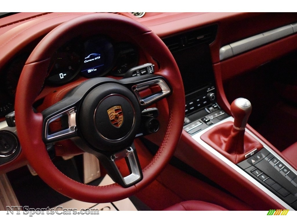 2019 911 Carrera GTS Coupe - GT Silver Metallic / Bordeaux Red photo #14