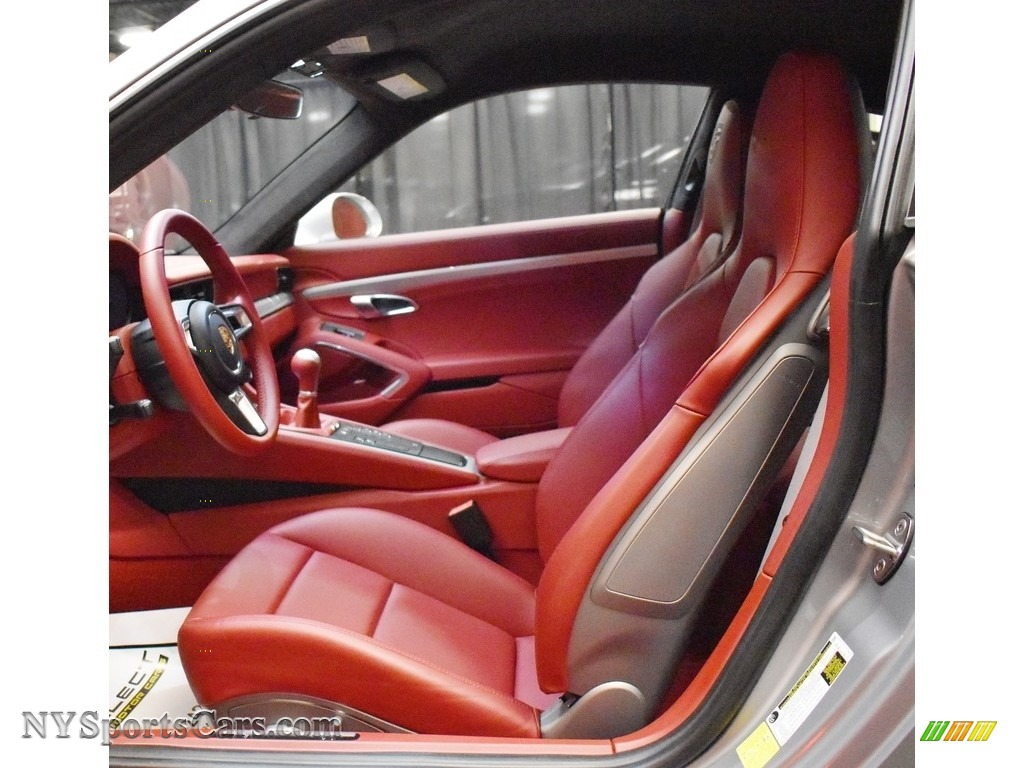 2019 911 Carrera GTS Coupe - GT Silver Metallic / Bordeaux Red photo #15