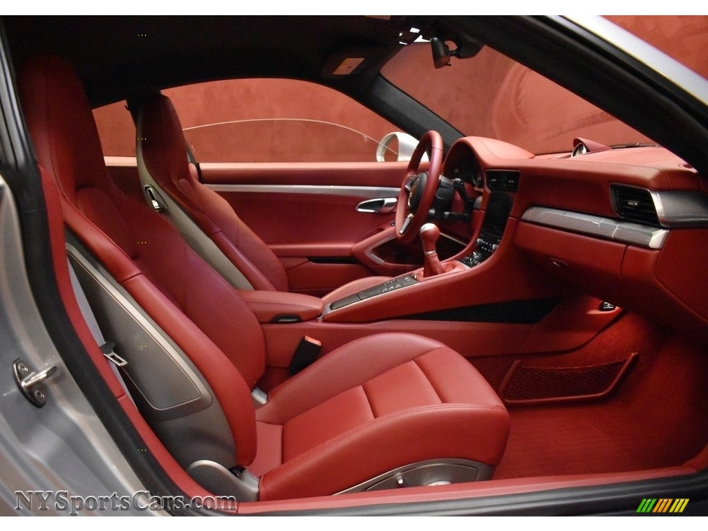 2019 911 Carrera GTS Coupe - GT Silver Metallic / Bordeaux Red photo #21