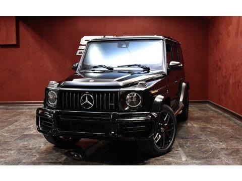 Black 2020 Mercedes-Benz G 63 AMG