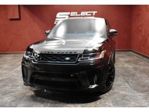 Santorini Black Metallic 2021 Land Rover Range Rover Sport SVR Cabon Edition