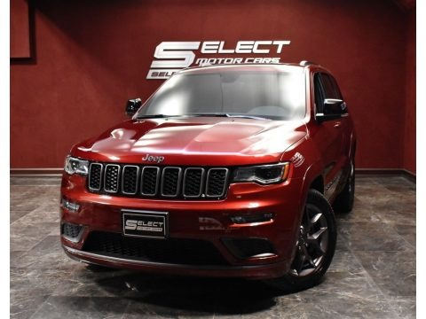 Velvet Red Pearl 2020 Jeep Grand Cherokee Limited X 4x4