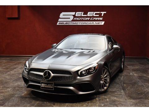 Selenite Grey Metallic 2018 Mercedes-Benz SL 550 Roadster