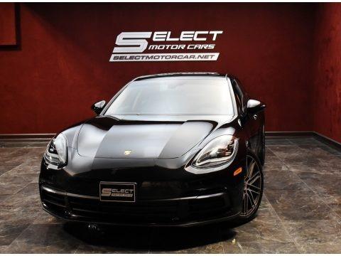 Black 2018 Porsche Panamera 4