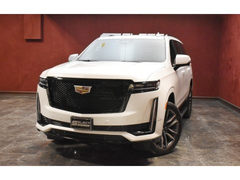 Crystal White Tricoat 2021 Cadillac Escalade Sport 4WD